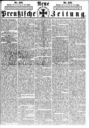Neue preußische Zeitung vom 20.05.1868