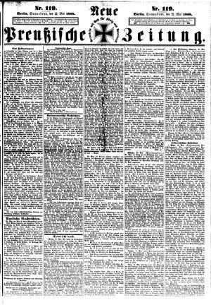 Neue preußische Zeitung vom 23.05.1868