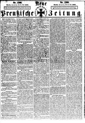 Neue preußische Zeitung vom 24.05.1868