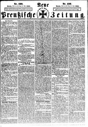 Neue preußische Zeitung vom 27.05.1868