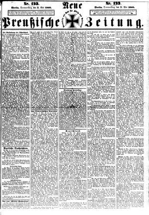 Neue preußische Zeitung vom 28.05.1868