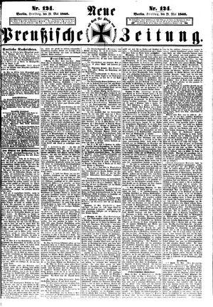 Neue preußische Zeitung vom 29.05.1868