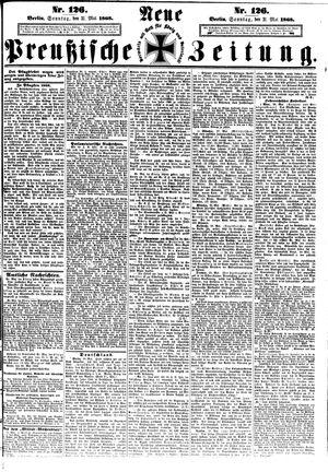 Neue preußische Zeitung vom 31.05.1868