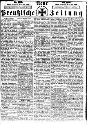 Neue preußische Zeitung vom 07.06.1868