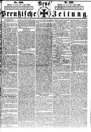 Neue preußische Zeitung vom 09.06.1868