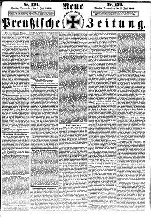 Neue preußische Zeitung vom 11.06.1868