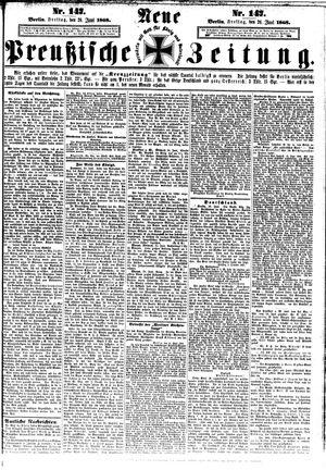 Neue preußische Zeitung on Jun 26, 1868