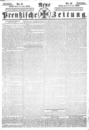 Neue preußische Zeitung vom 02.01.1893
