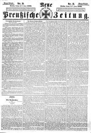 Neue preußische Zeitung vom 03.01.1893
