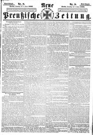 Neue preußische Zeitung vom 05.01.1893