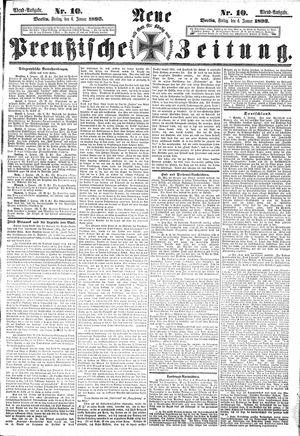 Neue preußische Zeitung vom 06.01.1893