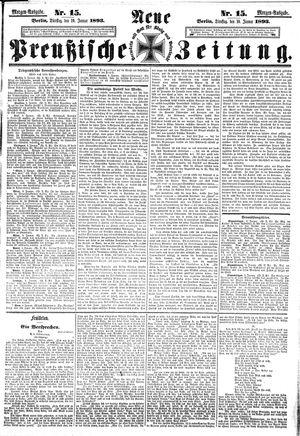 Neue preußische Zeitung vom 10.01.1893