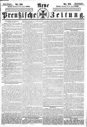 Neue preußische Zeitung on Jan 14, 1893