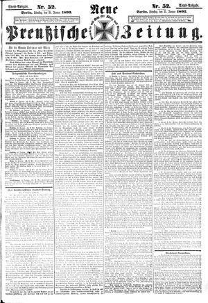 Neue preußische Zeitung vom 31.01.1893