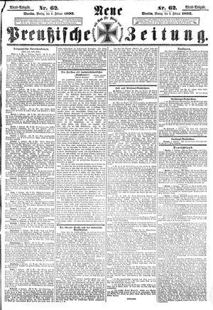 Neue preußische Zeitung on Feb 6, 1893