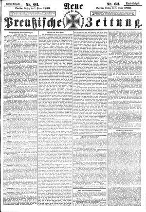 Neue preußische Zeitung vom 07.02.1893