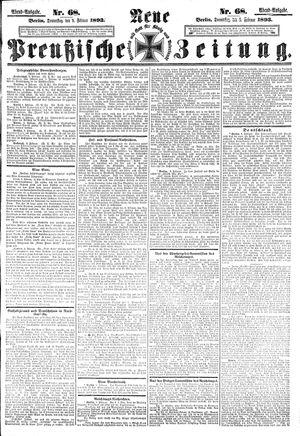 Neue preußische Zeitung vom 09.02.1893