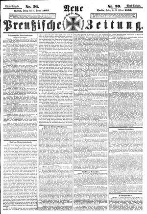 Neue preußische Zeitung vom 10.02.1893