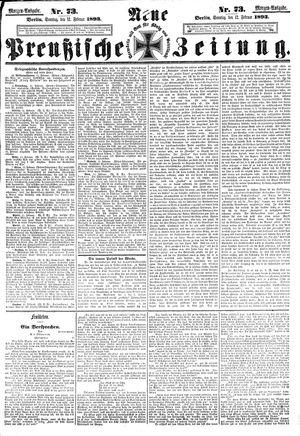 Neue preußische Zeitung vom 12.02.1893