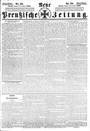 Neue preußische Zeitung vom 14.02.1893