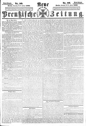 Neue preußische Zeitung vom 16.02.1893