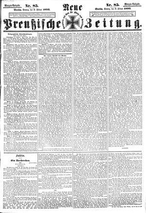 Neue preußische Zeitung on Feb 19, 1893