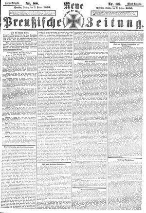 Neue preußische Zeitung vom 21.02.1893