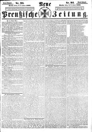 Neue preußische Zeitung vom 24.02.1893