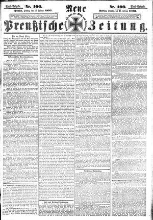 Neue preußische Zeitung vom 28.02.1893