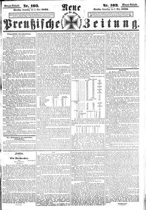 Neue preußische Zeitung vom 02.03.1893