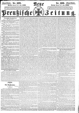 Neue preußische Zeitung vom 05.03.1893
