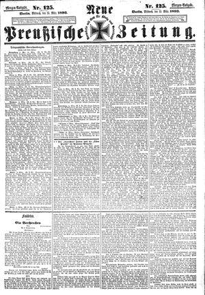 Neue preußische Zeitung vom 15.03.1893