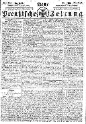 Neue preußische Zeitung vom 25.03.1893