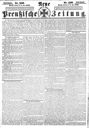 Neue preußische Zeitung vom 29.03.1893