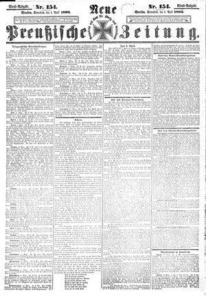 Neue preußische Zeitung vom 01.04.1893