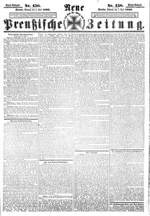 Neue preußische Zeitung vom 05.04.1893