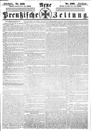 Neue preußische Zeitung vom 06.04.1893
