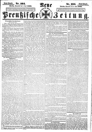 Neue preußische Zeitung vom 08.04.1893