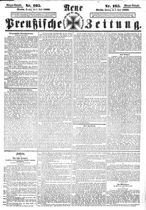 Neue preußische Zeitung vom 09.04.1893