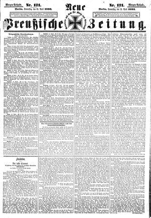 Neue preußische Zeitung vom 13.04.1893