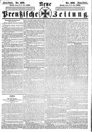 Neue preußische Zeitung vom 14.04.1893