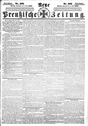 Neue preußische Zeitung vom 15.04.1893