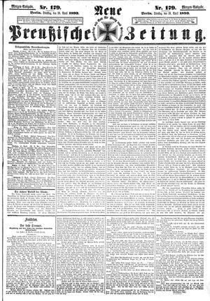 Neue preußische Zeitung vom 18.04.1893