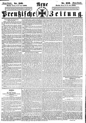 Neue preußische Zeitung on Apr 23, 1893