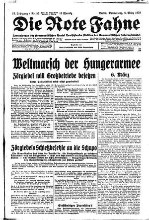 ˜Dieœ rote Fahne vom 06.03.1930