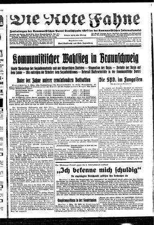 ˜Dieœ rote Fahne on Mar 3, 1931