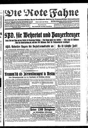 ˜Dieœ rote Fahne vom 05.03.1931