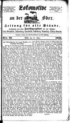 Lokomotive an der Oder (17.03.1866)