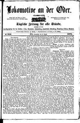 Lokomotive an der Oder (19.08.1871)