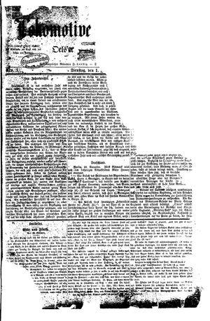 Lokomotive an der Oder vom 01.01.1878